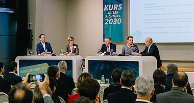 "Paneldiskussion ""Bottom-up Energiewende: Mythos oder Realität?"""